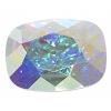 Swarovski Stones 4568 Rectangle 18x13mm Aurora Borealis Crystal 4Pcs